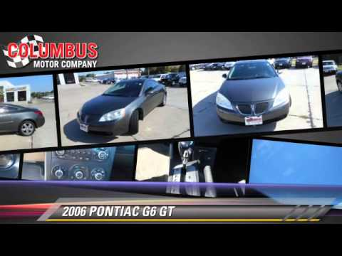 Used 2006 PONTIAC G6 GT - Columbus