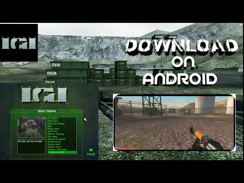 How To Download IGI Games For Android Full  PC Version | IGI Project | IGI MOBILE | BD Gamers |