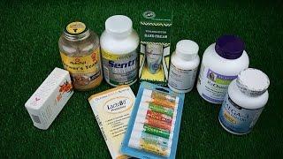 Посылка с IHERB.com (Айхерб)-17. Витамины для пожилых, для собак и котов, Омега 3 для женщин