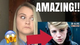 "HE IS INSANELY TALENTED!! MATTYBRAPS ""SO ALIVE"" **REACTION**"