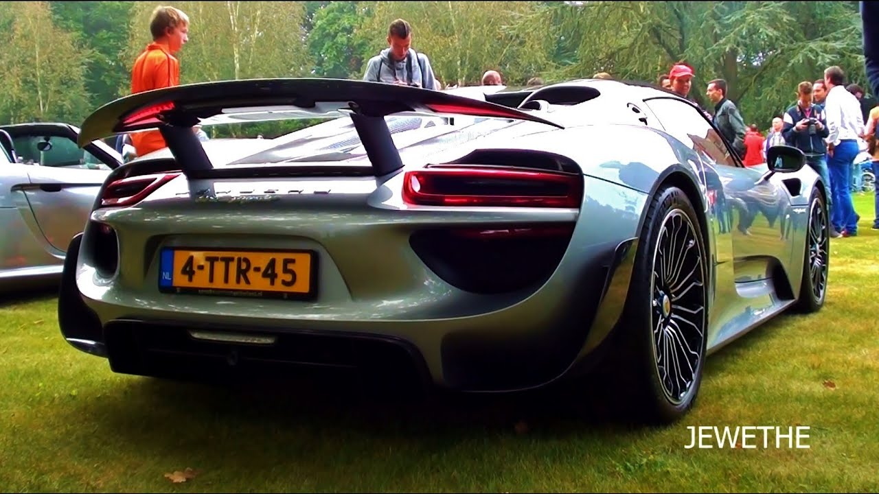 2015 porsche 918 spyder revs accelerations exhaust notes youtube. Black Bedroom Furniture Sets. Home Design Ideas