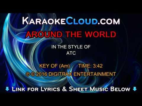 ATC  Around The World La La La La La Backing Track