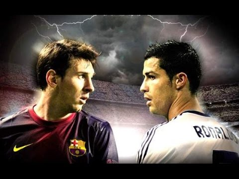 Image result for ronaldo vs messi fight