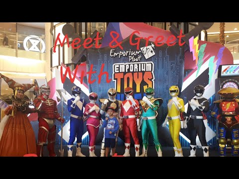 Power Rangers Cosplayer Meet & Greet @ Emporium Toys Week 2018 Day 3