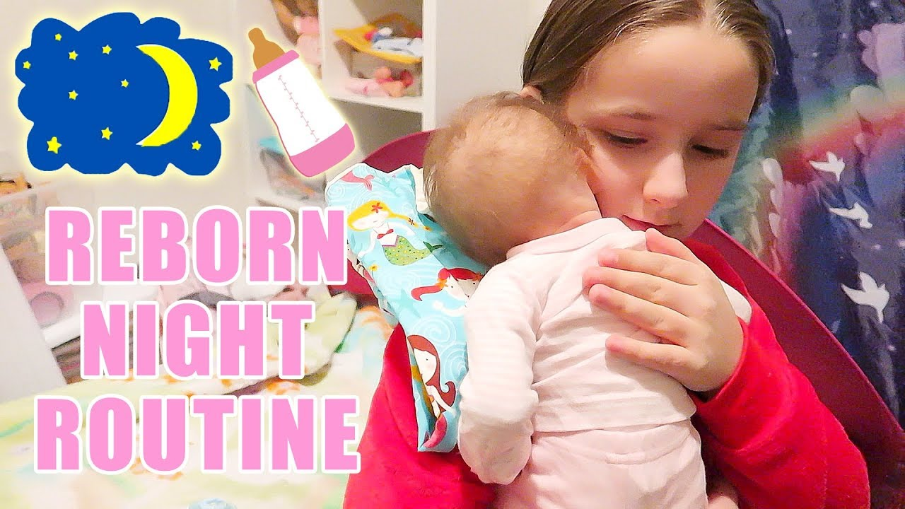 4215c4730 Reborn Baby Doll Night Routine with Twin Reborns Baby Dolls Oliver and  Olivia