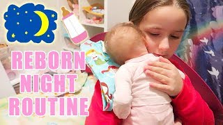 Reborn Baby Doll Night Routine with Twin Reborns Baby Dolls Oliver and Olivia