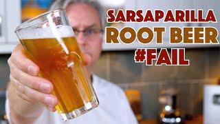 Sarsaparilla Soda Pop RECIPE Test First Try... &amp Fail