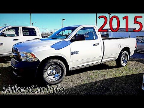 2015 RAM 1500 TRADESMAN REGULAR CAB WORK TRUCK