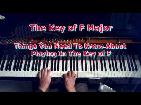 Key of F Major: What you need to know about playing piano in the key of F