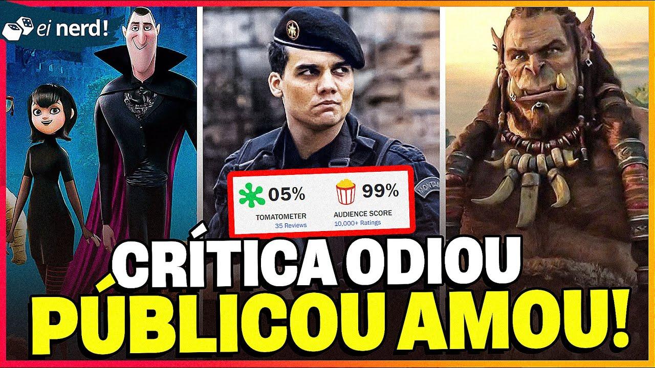8 FILMES QUE A CRÍTICA ODEIA, MAS O PÚBLICO AMA