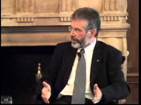 A Conversation with Gerry Adams