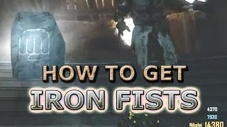 Iron Fists - 1 Hit Kill until ROUND 37 - Origins Black Ops 2 Zombies