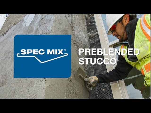 SPEC MIX® Preblended Stucco