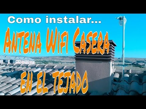 CÓMO INSTALAR UNA ANTENA (WIFI, TV, RADIO, PARABÓLICA) EN EL TEJADO