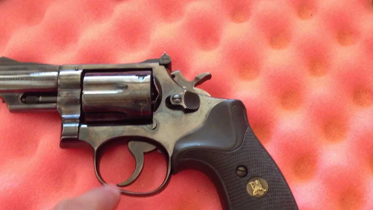 Smith & Wesson Model 19-3 Snub Nose Review