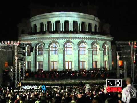 KOHAR 3D Mapping At Opera, Yerevan 28 May 2011