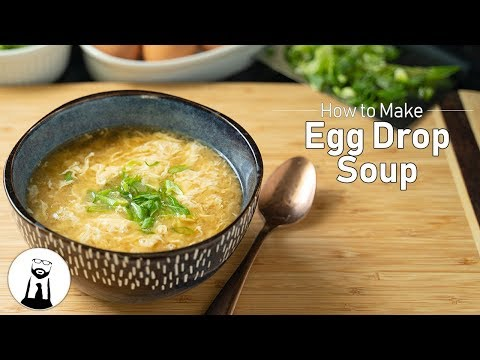 How to Make Egg Drop Soup | Keto, Low-Carb, Gluten Free | Black Tie Kitchen