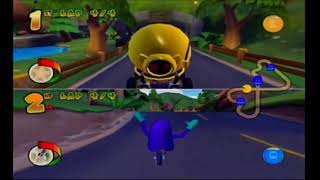 It's Mario Kart, without Mario - Pac-Man World Rally (all courses with Marty)