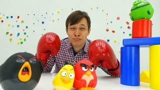 Angry Birds: Федор идет в спортивную секцию Игры онлайн!