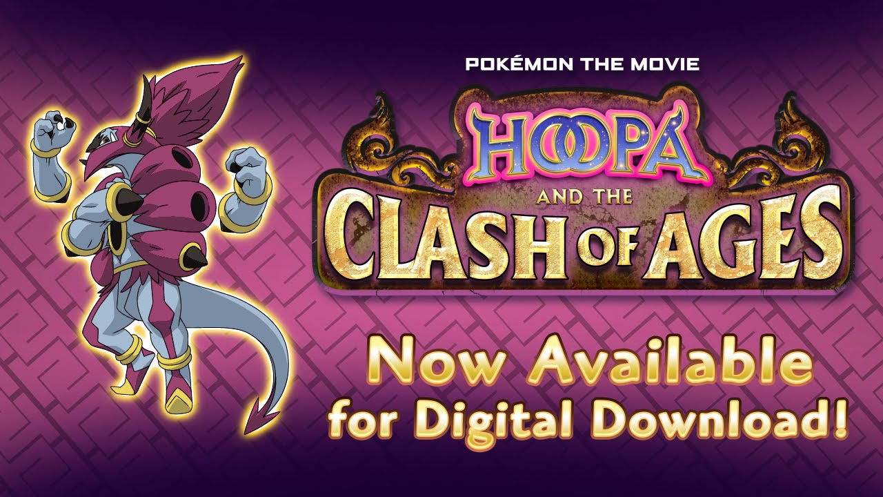 Uk Pokemon The Movie Hoopa And The Clash Of Ages Youtube