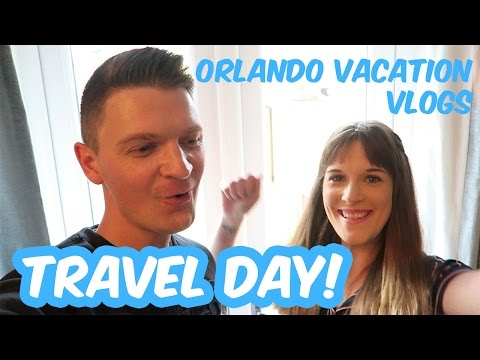 Orlando Florida Vacation Vlogs August 2016 | Travel Day