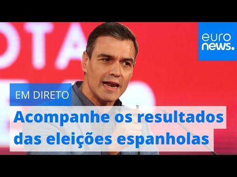 Em direto: Acompanhe os resultados das eleições espanholas