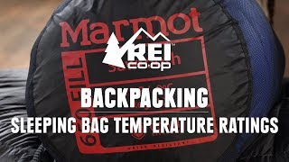How Do Sleeping Bag Temperature Ratings Work? || REI