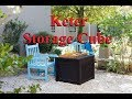 Keter Storage Cube box Outdoor Garden