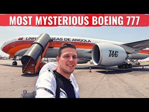 My TAAG ANGOLA ADVENTURE - The WORLD's MOST MYSTERIOUS BOEING 777!