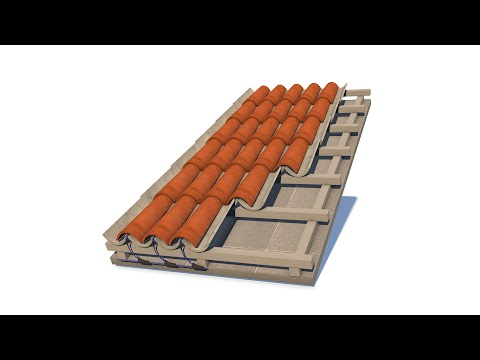 Invisible Solar Rooftile - installation