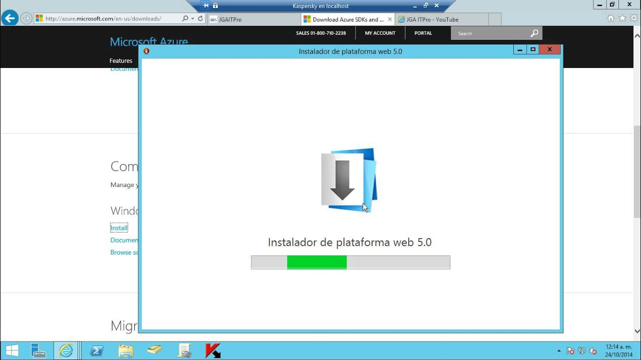 Microsoft Azure PowerShell - Instalar Azure PowerShell