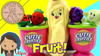 Cutie Fruties Mini Scented Plush Surprise Toys