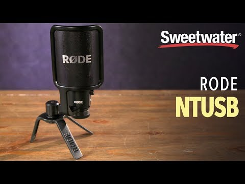 Rode NT-USB USB Condenser Microphone | Sweetwater