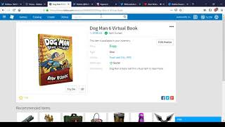 How To Get Dog Man 6 Virtual Book | Roblox