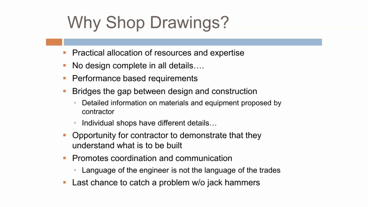 shop drawings vs submittals [ 1280 x 720 Pixel ]
