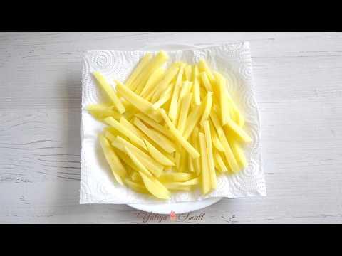 Как приготовить картофель-фри