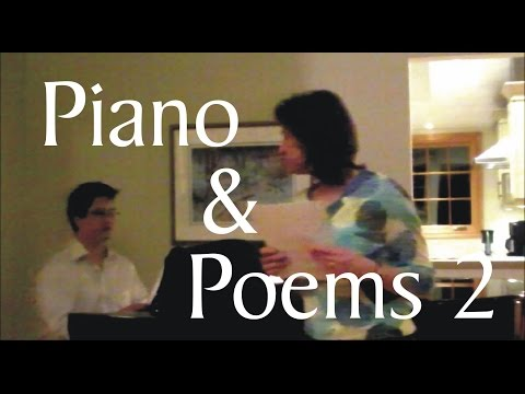 Piano & Poems 2: an experiment in performance
