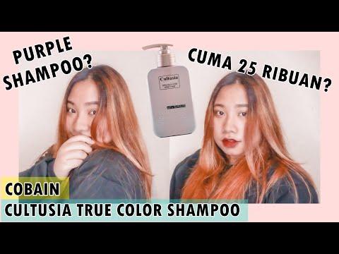 Purple Shampoo Murah dari Cultusia | Review Cultusia With Keratin True Color Shampoo - YouTube