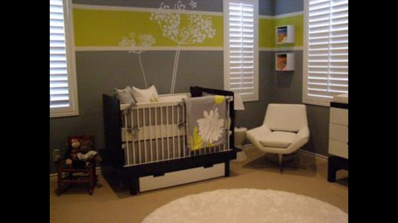 Marvellous baby girl nursery painting ideas youtube for Baby rooms decoration
