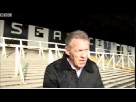Alan Curtis Visits The Vetch For The Last Time