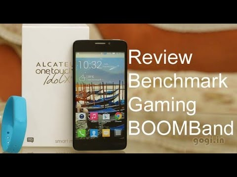 Alcatel OneTouch Idol X+ review, BOOMBand and Gaming