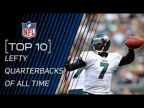 Top 10 Lefty Quarterbacks of All Time | NFL