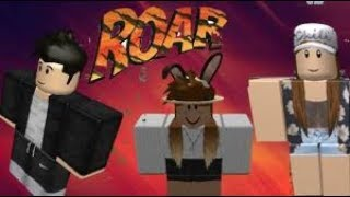 Roar by Katy Perry || a roblox 20 subs music video||