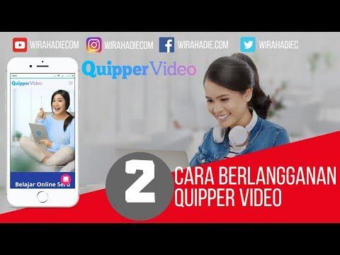 Cara Berlangganan Quipper Video Menggunakan HP
