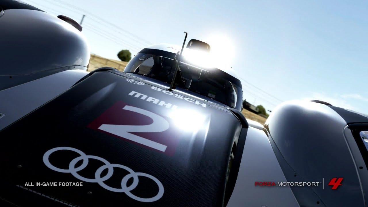 forza motorsport 4 dlc american le mans series pack trailer