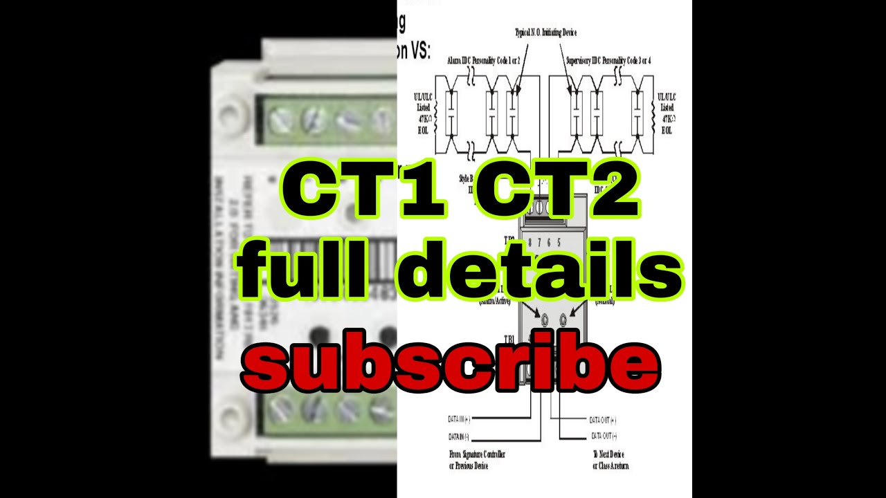 hight resolution of est3 siga ct1 ct2 conation and details fire alarm control waring daigram panel hindi urdu