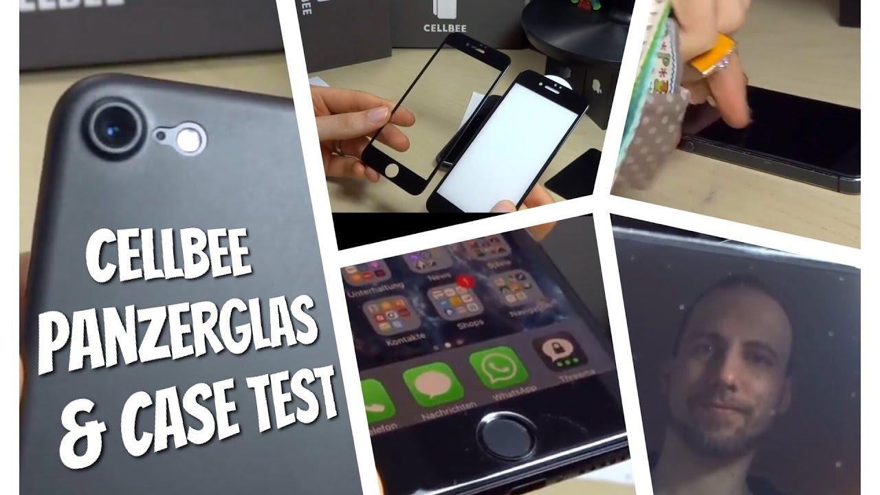 Iphone  Panzerglas Test