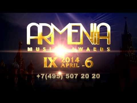 ARMENIA MUSIC AWARDS - LEGENDS 2014 [Arm]