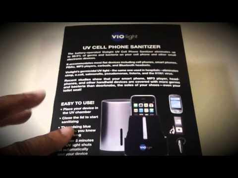 unboxing:-vio-light-uv-cell-phone-sanitizer!
