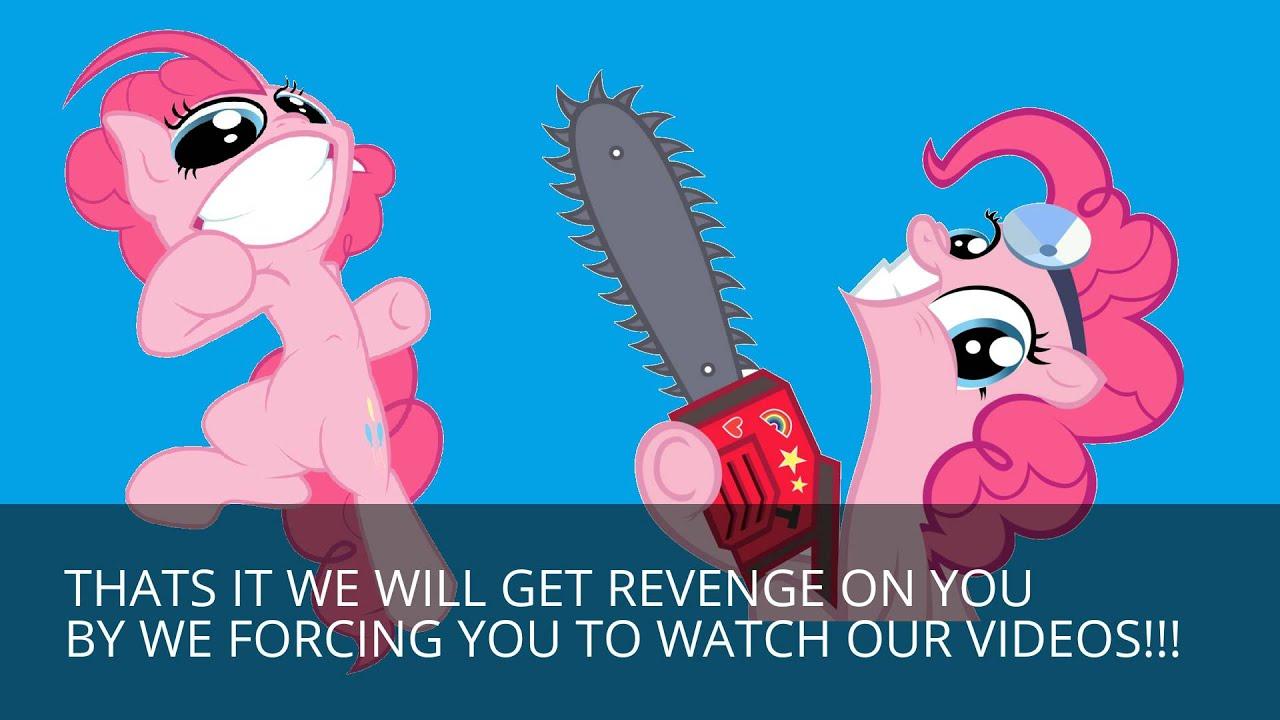 pinkie pie and equestria girls pinkie pie vs pinkie pie (cupcakes hd